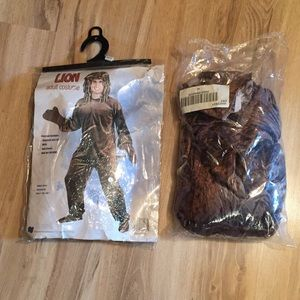 Adult Lion Costume and Wig